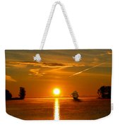 Tall Ships Of The Caribbean Weekender Tote Bag
