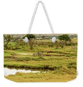 Tanzania Animal Landscape Weekender Tote Bag