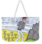 Tarot Of The Younger Self Eight Of Cups Weekender Tote Bag