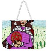 Tarot Of The Younger Self King Of Pentacles Weekender Tote Bag