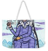 Tarot Of The Younger Self King Of Swords Weekender Tote Bag