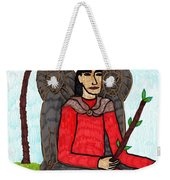 Tarot Of The Younger Self King Of Wands Weekender Tote Bag