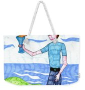 Tarot Of The Younger Self Page Of Cups Weekender Tote Bag