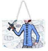 Tarot Of The Younger Self Page Of Swords Weekender Tote Bag
