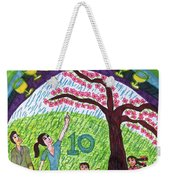 Tarot Of The Younger Self Ten Of Cups Weekender Tote Bag