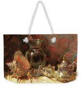 Tea By The Sea Weekender Tote Bag by Steve Henderson