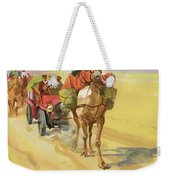 Ten Thousand Mile Motor Race Camel Train Weekender Tote Bag