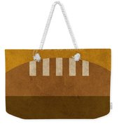 Tennessee Football Minimalist Retro Sports Poster Series 004 Weekender Tote Bag