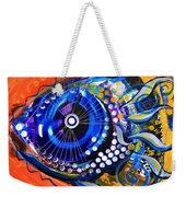 Tenured Acrimonious Fish Weekender Tote Bag