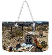 Terlingua Grave Weekender Tote Bag
