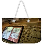 Terra Cotta Warriors In Pit 3 Ruins With Diagram Weekender Tote Bag