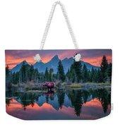 Teton Moose Weekender Tote Bag