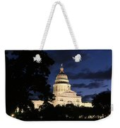 Texas State Capital Dawn Panorama Weekender Tote Bag