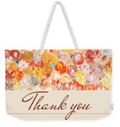 Thank You #3 Weekender Tote Bag