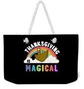Thanksgiving Is Magical Weekender Tote Bag