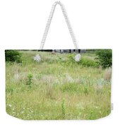 The Abandoned Farm In Summer Weekender Tote Bag by Mary Lee Dereske