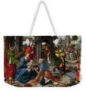 The Adoration Of The Magi With Donor  Weekender Tote Bag