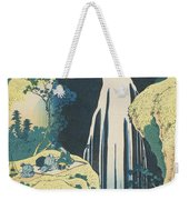 The Amida Waterfall In The Province Of Kiso  Weekender Tote Bag