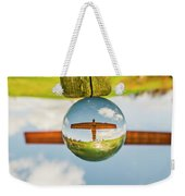 The Angel Of The North. Weekender Tote Bag