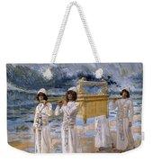 The Ark Passes Over The Jordan, 1902 Weekender Tote Bag