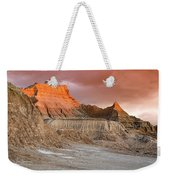 The Badlands With Another Sunrise Weekender Tote Bag