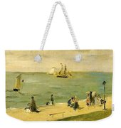 The Beach At Petit-dalles Also Known As On The Beach - 1873 - Virginia Museum Of Fine Arts Usa Weekender Tote Bag