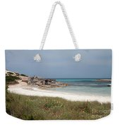 The Boathouse And The Beach Weekender Tote Bag