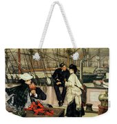 The Captain And The Mate, 1873 Weekender Tote Bag