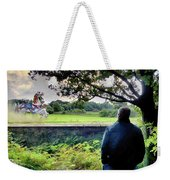 The Carousel Horses Escaping Weekender Tote Bag