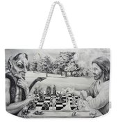 The Chess Game Weekender Tote Bag