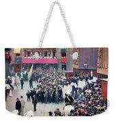 The Corpus Christi Procession Leaving The Church Of Santa Maria Del Mar - Digital Remastered Edition Weekender Tote Bag
