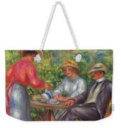 The Cup Of Tea, Or The Garden Weekender Tote Bag