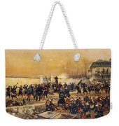 The Defense Of Champigny  Weekender Tote Bag