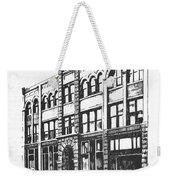 The Denver Block Helena Montana Weekender Tote Bag