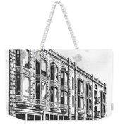 The Diamond Block Helena Montana Weekender Tote Bag