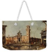The Entrance To The Arsenal In Venice  Weekender Tote Bag