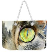 The Eye Of The Kitty Weekender Tote Bag