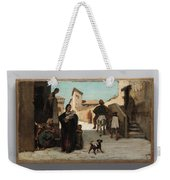 The Fable Of The Miller  His Son  And The Donkey  Weekender Tote Bag