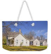 The Farmhouse, Washhouse And Garage Weekender Tote Bag