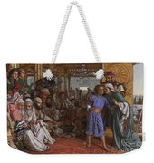 The Finding Of The Savior At The Temple Weekender Tote Bag