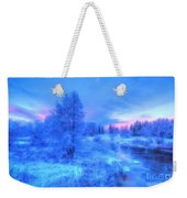 The First Snow 2 Weekender Tote Bag
