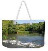 the ford at Etal on river Till Weekender Tote Bag