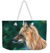 The Fox 235 - Painting Weekender Tote Bag