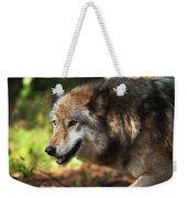 The Gray Wolf Weekender Tote Bag