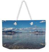 The Great Salt Lake Weekender Tote Bag
