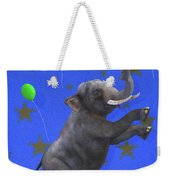 The Happiest Elephant Weekender Tote Bag
