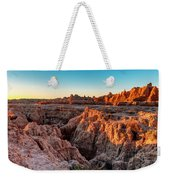 The High And Low Of The Badlands Weekender Tote Bag