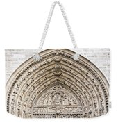 The Judgement Portal Of Notre Dame De Paris Weekender Tote Bag