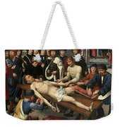 The Judgment Of Cambyses, Flaying Of Sisamnes Weekender Tote Bag