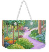 The Lilac Path - Rest Awhile Weekender Tote Bag